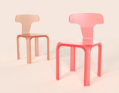 Lucid chair