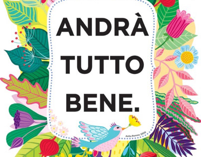 Andrà Tutto Bene. Anita Romeo Illustration