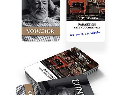 Voucher Confra Barber Confra