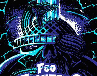 Foo Fighters & Queens of The Stone Age poster