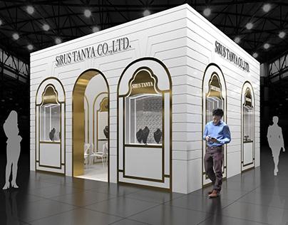 Exhibition stand ''SIRUS TANYA''