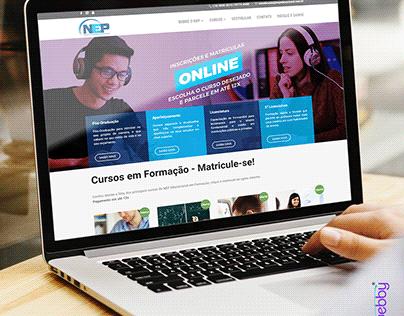 Criação de Site - Nep Educacional