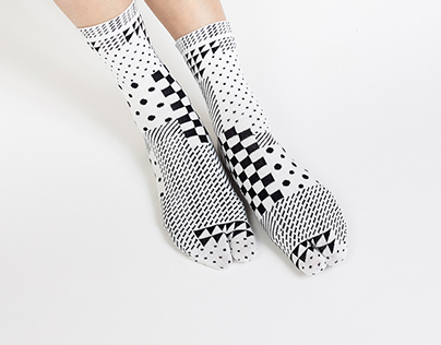 SUPERMAMA x A Design Film Festival 2015 Tabi Socks