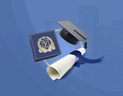 Karazin University — landing page concept