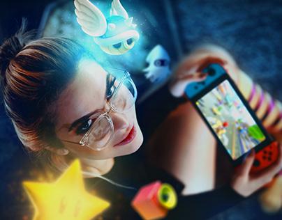 Mario Kart - Photoshop Manipulation