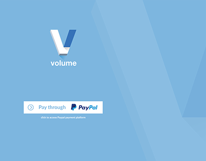 Volume Network - Landing Page