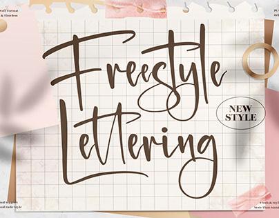 Freestyle Lettering - Beautiful Handwritten Font