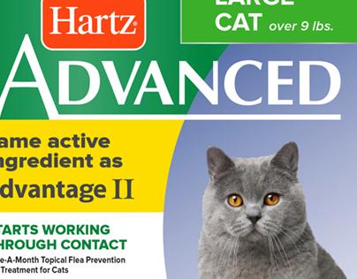 Hartz Flea & Tick Packaging Concepts
