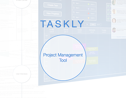 Taskly - Project Management App Concept (UX)