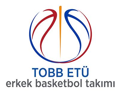 Tobb etü Basketbol takımları logo