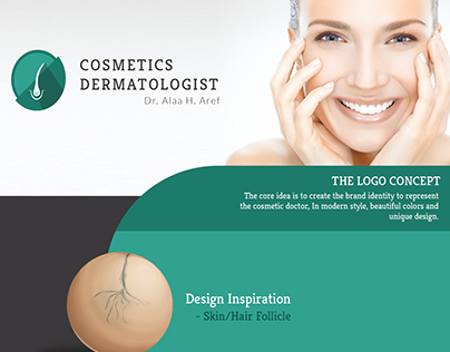 Branding - Cosmetic Dermatologist - Dr. Alaa H. Aref
