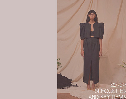 SS//20 Silhouettes & Key Items Trends Book