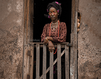 African High Fashion Editorial Shoot