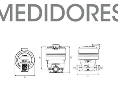 HIDROCENTRO // CATÁLOGO MEDIDORES (Ecuador)