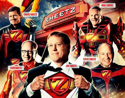 Sheetz Z-Squad Executive Poster