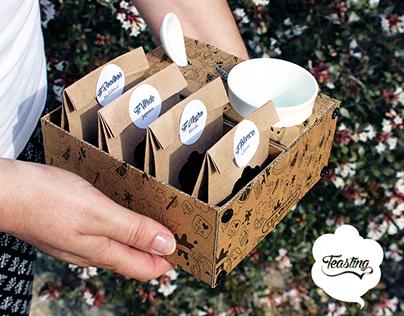 Teasting - Packaging de Té