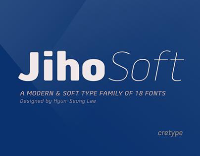 Jiho Soft Type Family (18 fonts)