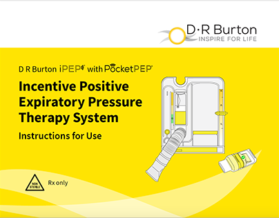 Freelance|Expiratory Pressure Therapy System DR Burton