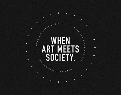 When art meets society.