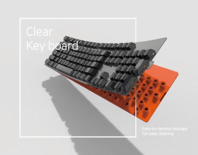 임소은_Clear Key board