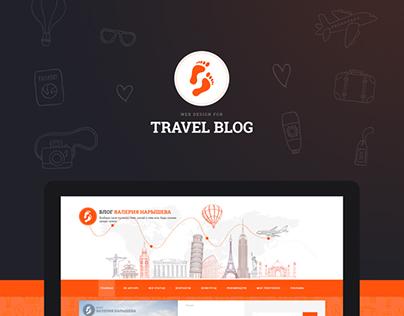 Web Design for a Travel blog