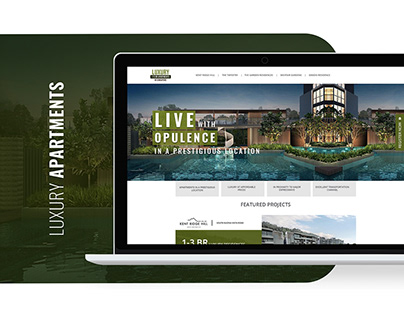 Luxury Apartments Landing Page & Campaign Creatives