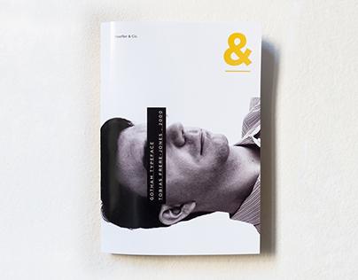 Gotham Typeface Book