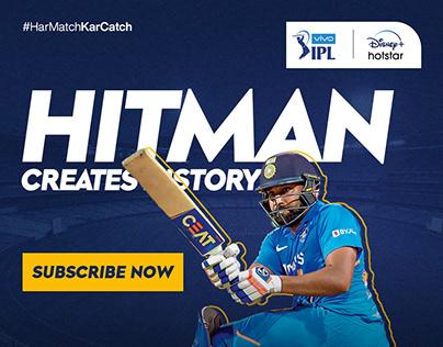 IPL Promotion Social Media Banner for Hotstar