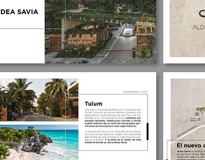 Brochure mobiliario
