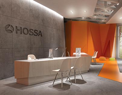 Hossa showroom