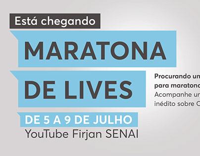 FIRJAN Senai   Maratona de Lives