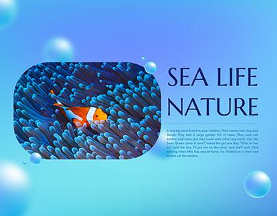 Sea Life Nature - free Google Slides Template