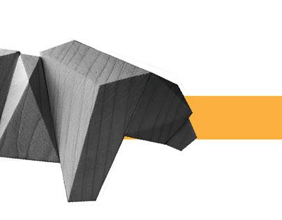 Modular Wooden Bear Toy