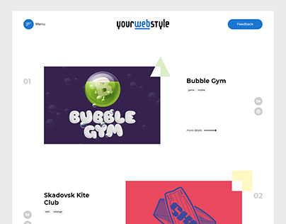 yourwebstyle - landing page