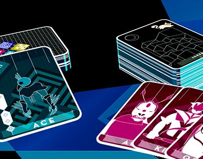 Yusaku Kamekura Themed Playing Cards