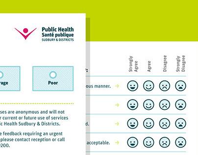 Public Health Sudbury & Districts Client Survey