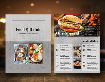 Restaurant Menu vol 48