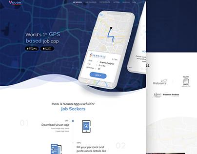 Veuon - Web Design UI
