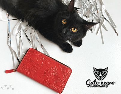 Gato Negro: online store of handmade leather goods