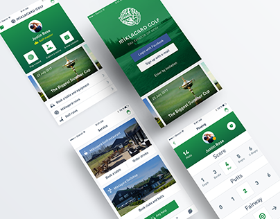 Miklagard Golf Mobile App