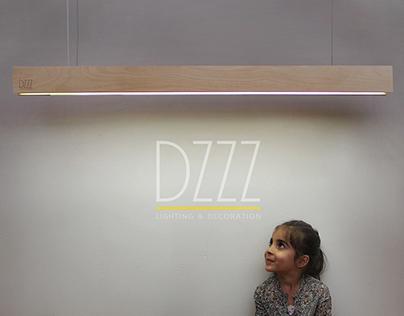 "DZZZ lighting and decoration. Model ""NO²"""