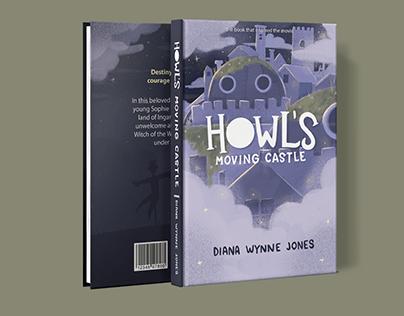 CAPA DE LIVRO | HOWL'S MOVING CASTLE