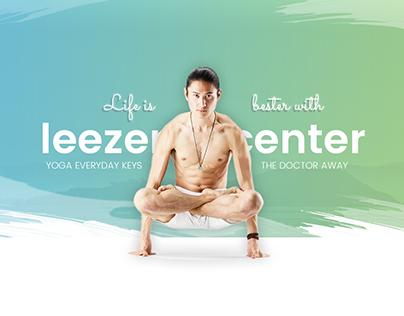 Leezen - Exclusive Yoga Center PSD Template
