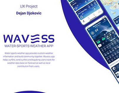 WAVESS - Water-sports Weather APP