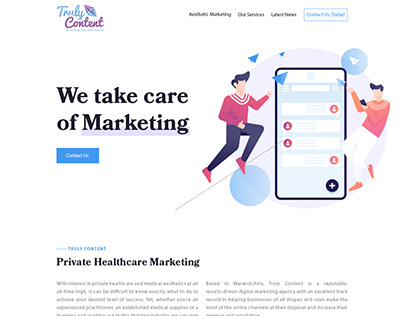 We take care of marketing email