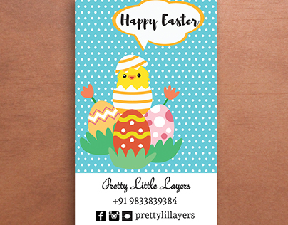 Easter Giveaway Cards