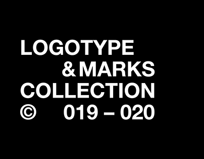 LOGOTYPE & MARKS COLLECTION © 019 – 020