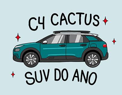 Stickers   Citroën C4 Cactus