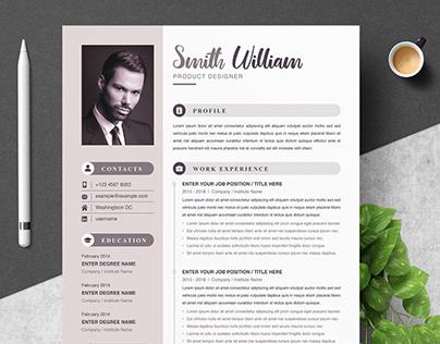 Modern Resume Template | CV Template
