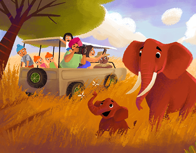 African Safari | Concept Art